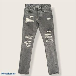 KSubi chitch fire starter distressed skinny jeans